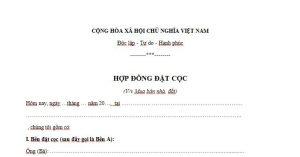 hop-dong-dat-coc-nha-dat-moi-nhat